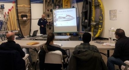 Boating Safety Course being taught by John Capobianco