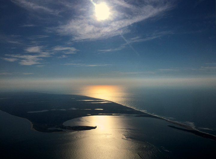 A pilot's view of Nantucket Sound