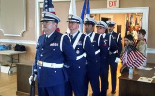 Kevin Ritchie Leads Color Guard