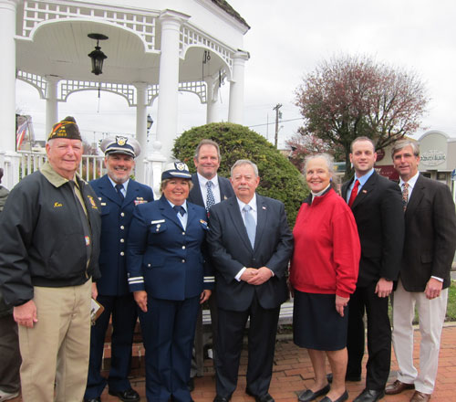 Amityville represented at Veteran's Day Ceremony