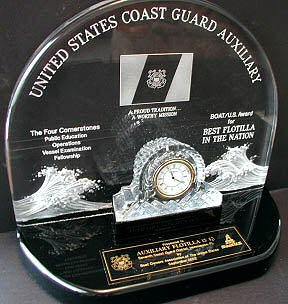 US Boats National Award for Best Flotilla 2002 2004