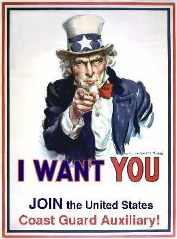 Uncle Sam Wants You To Join The Auxiliary