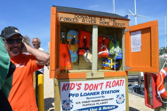Kids Don't Float Event Loaner Station