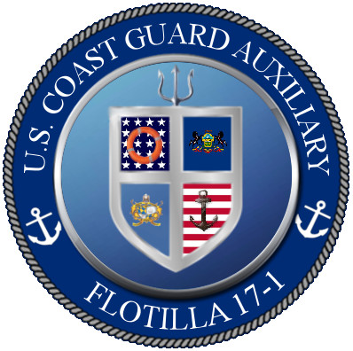 Official Seal of Flotilla 17-1, District 5NR
