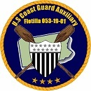 Official Seal of Flotilla 19-1, District 5NR