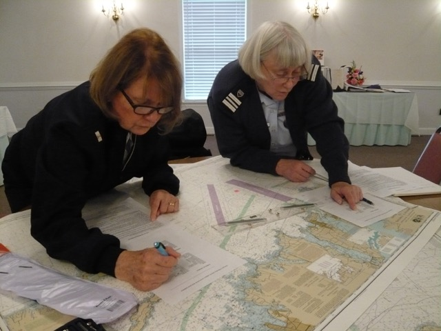 search and rescue plotting exercise