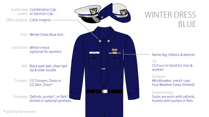 Winter Dress Blue uniform image