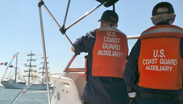 Auxiliary view Coast Guard Vessel Elm