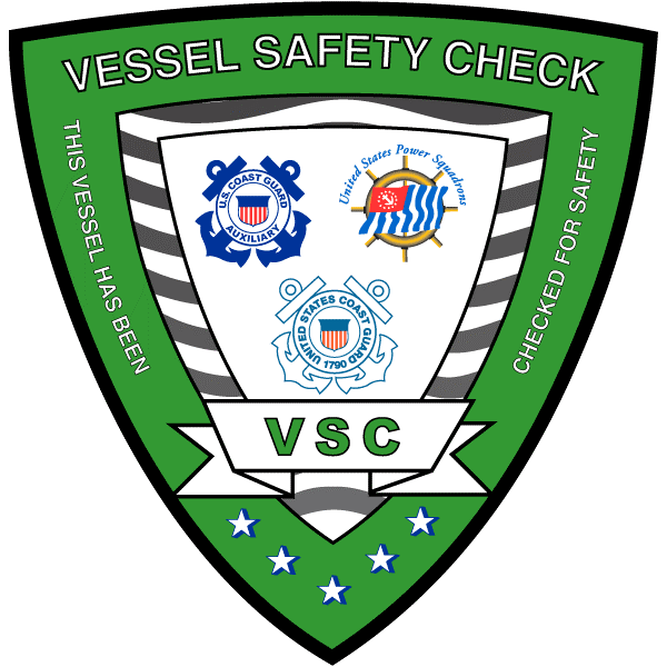 Picture of a Vessel Safety Exam Decal