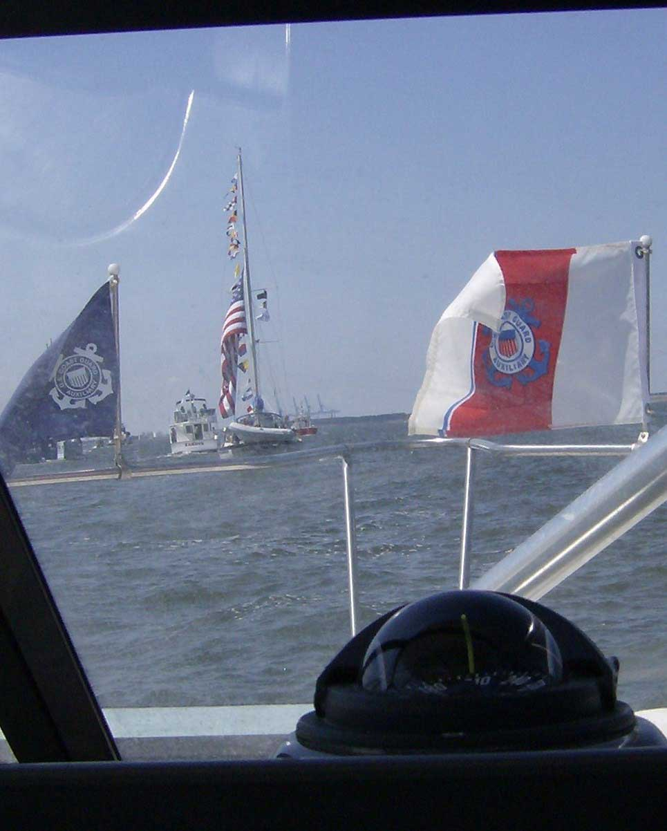 Picture of Commander Pennant & Auxiliary Patrol Ensign