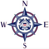 compass rose USCGAUX
