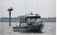 Image of enclosed cabin Auxiliary vessel on patrol