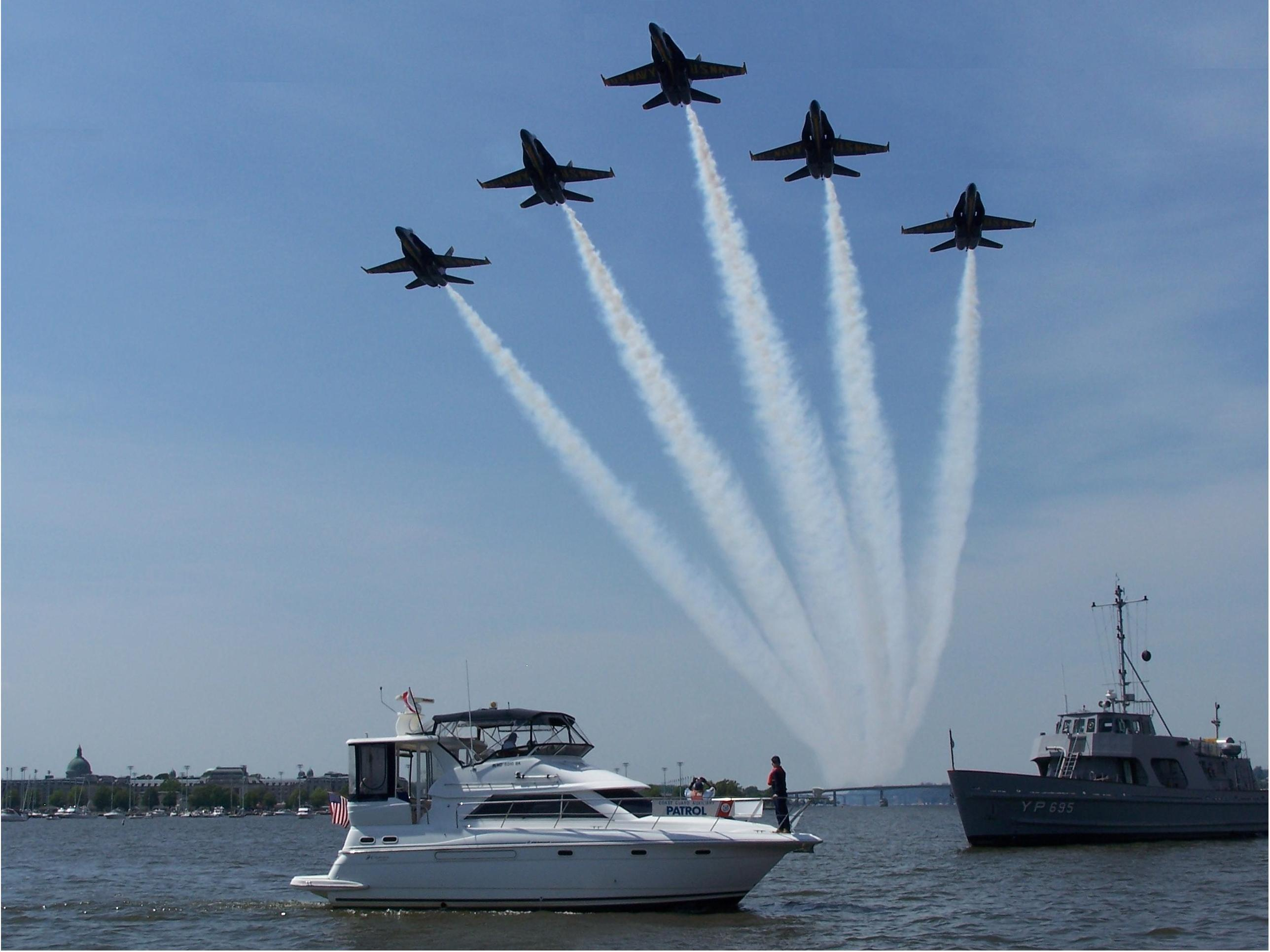 Blue Angels Flyover