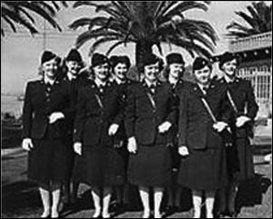 Women in uniforms