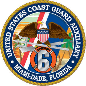USCG Auxiliary District 7 Division 6 Logo