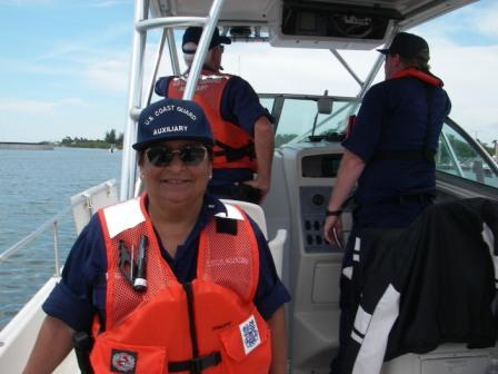 FL75 Member in Boat Crew Training
