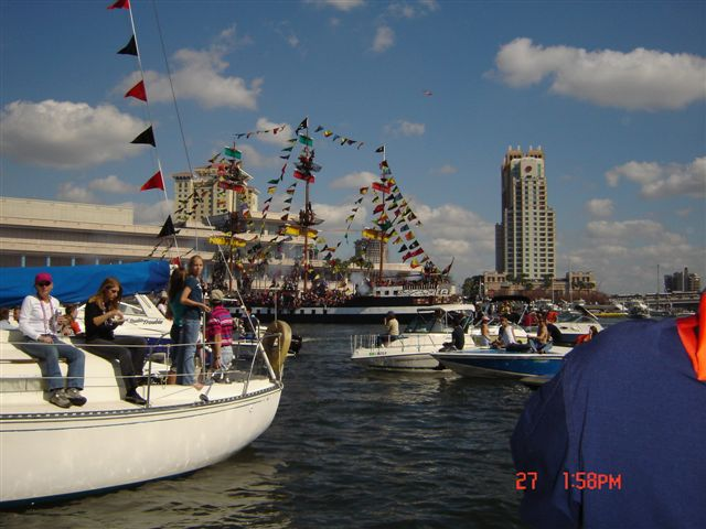 Regatta Patrol for the Gasparilla Invasion in Tampa
