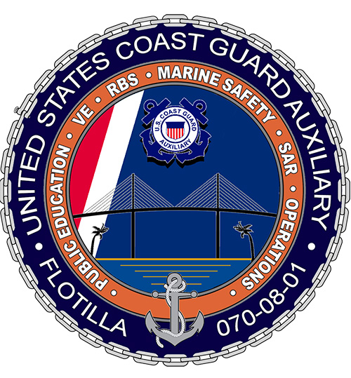Official Seal of Flotilla 8-1, District 7