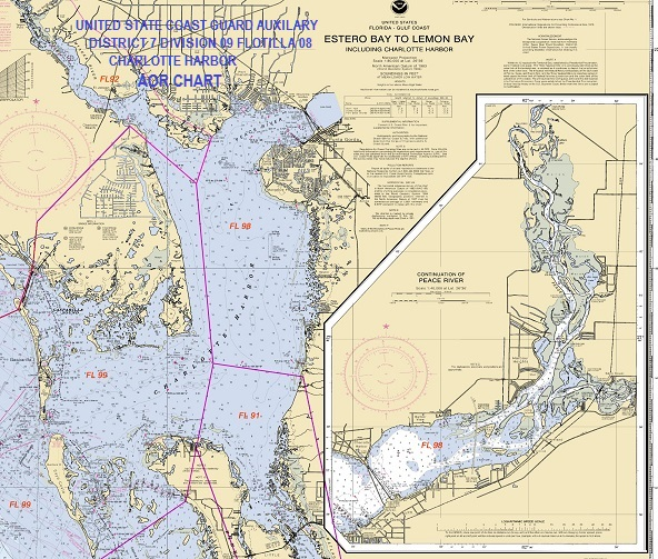 AOR Chart for Flotilla 98