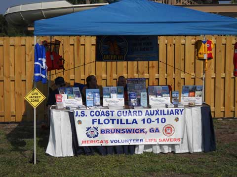 SAFE BOATING WEEK AUX DISPLAY