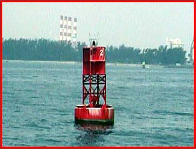 Red,even number, lateral buoy