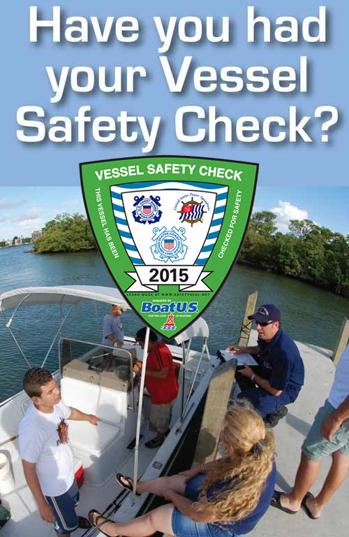Vessel Safety Check 2015