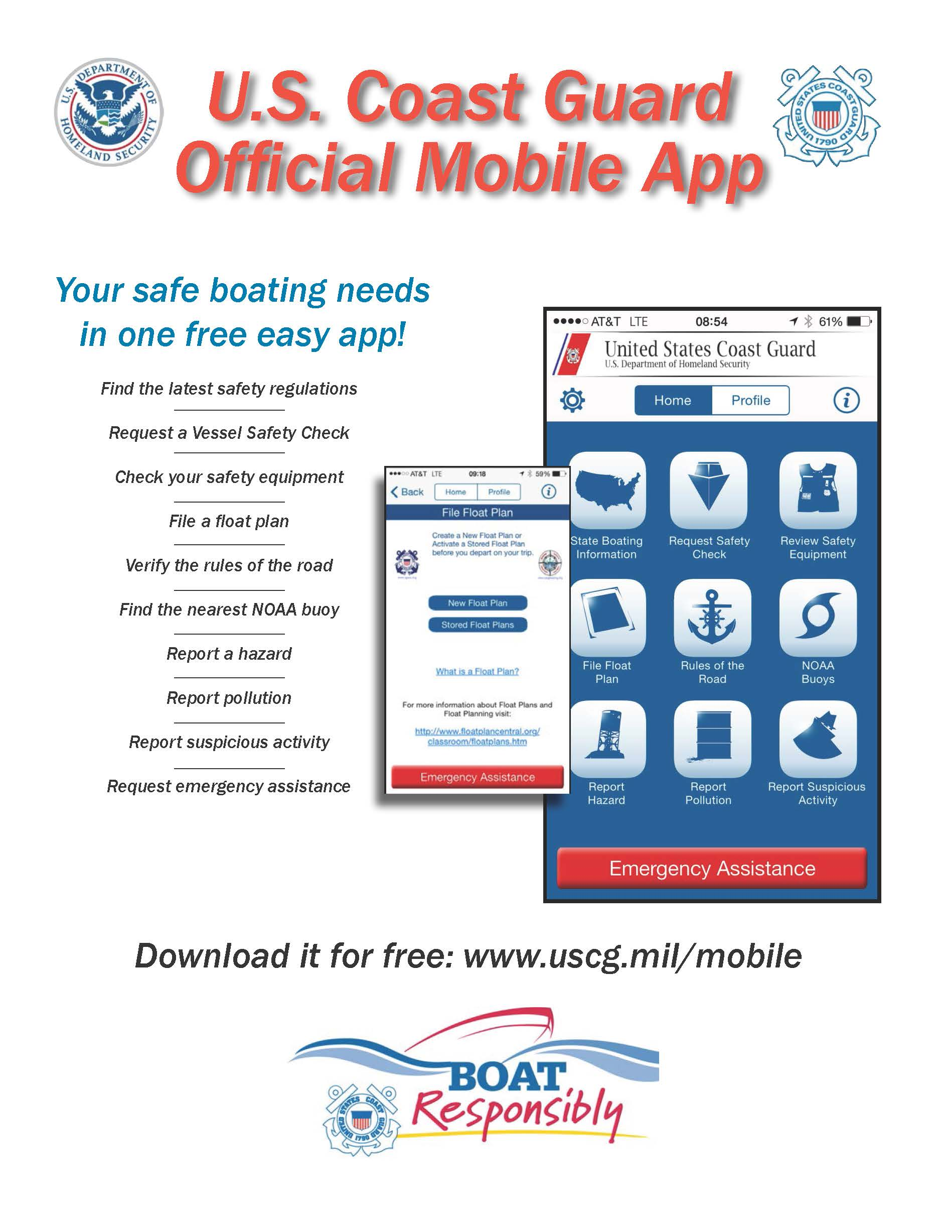 U.S. Coast Guard Official Mobile App