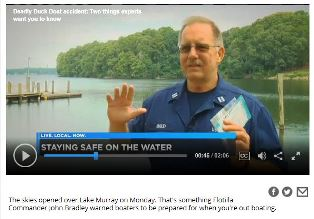 Flotilla Commander talks about boating safety