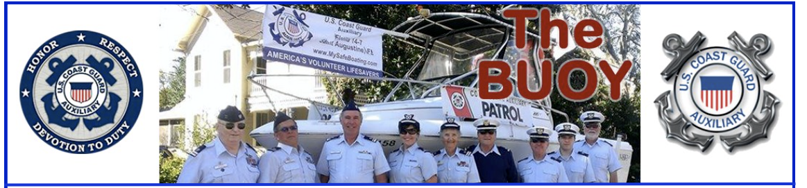 St. Augustine Buoy - Coast Guard Auxiliary
