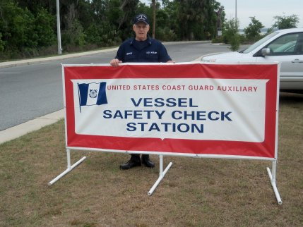 Vessel safety check station