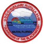 Official Seal of Flotilla 1-8, District 8CR