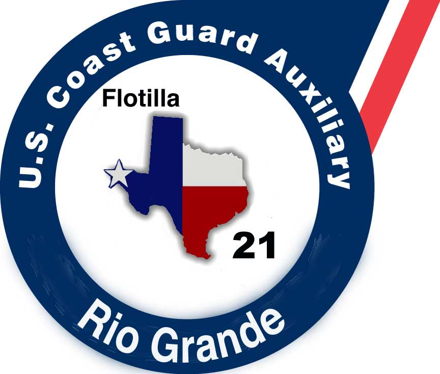 Official Seal of Flotilla 2-1, District 8CR