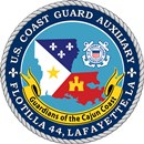 Official Seal of Flotilla 4-4, District 8CR