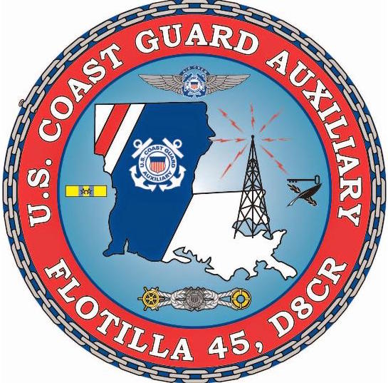 Official Seal of Flotilla 4-5, District 8CR