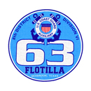 Official Seal of Flotilla 6-3, District 8CR