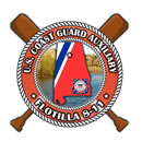 Official Seal of Flotilla 8-11, District 8CR