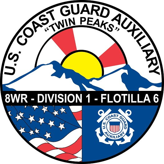 Official Seal of Flotilla 1-6, District 8WR