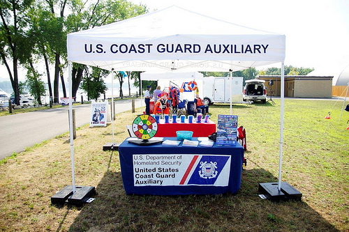 Boating Safety Day Tent