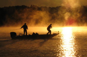 fishermen sunrise