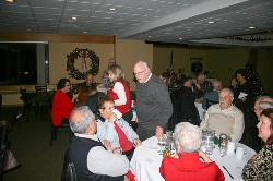 A good time was had by all during the 2016 Change of Watch and Holiday Gathering