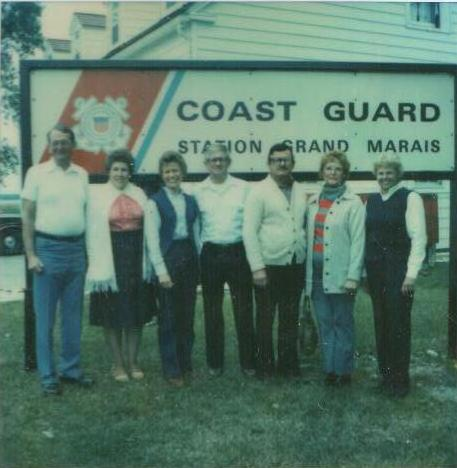1983 Auxiliary Members at Station
