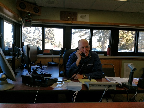 Auxiliarist does Comms for Station Duluth