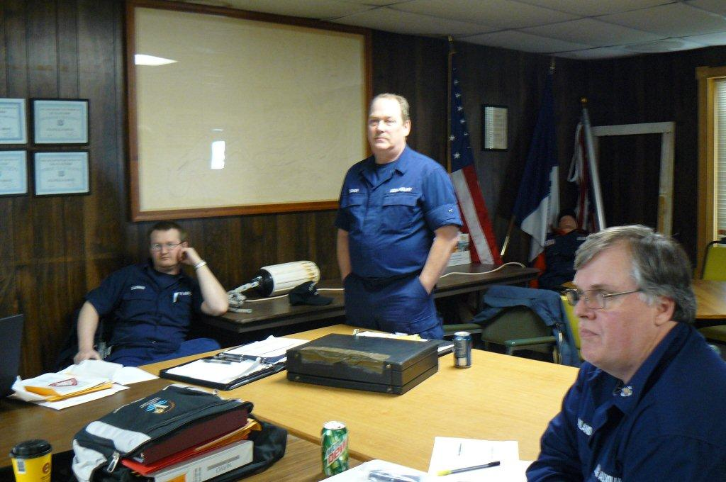 March 31 flotilla meeting