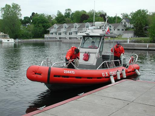 Photo of a Coast Guard boat
