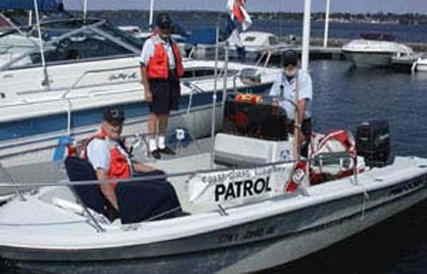 boat ready for patrol