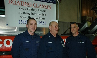 John Steinbarge and active duty personnel
