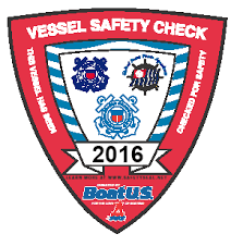 2016 Vessel Safety Check decal