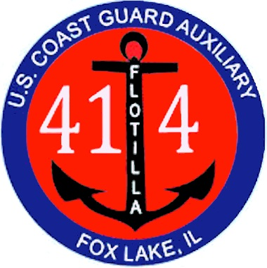 Official Seal of Flotilla 41-4, District 9WR
