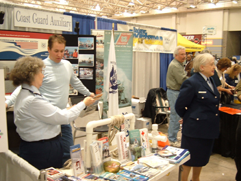booth at Fishing Expo