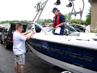 safe boater earns decal
